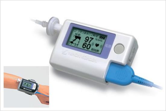 携帯型睡眠時無呼吸検査装置